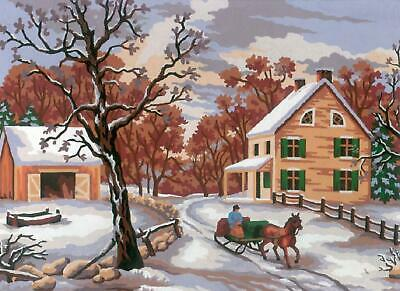 Grafitec Printed Tapestry/Needlepoint Canvas – Winter
