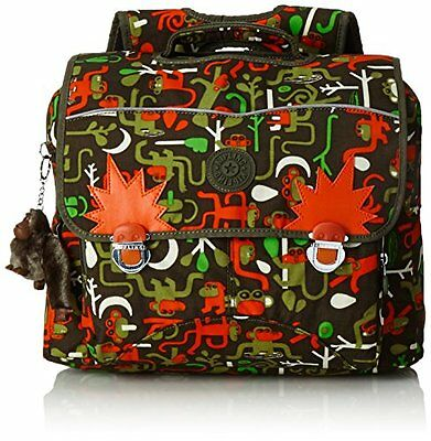 Kipling - INIKO - Cartella scolastica - Monkey Frnds Kh - (Multi color) (u4Y)