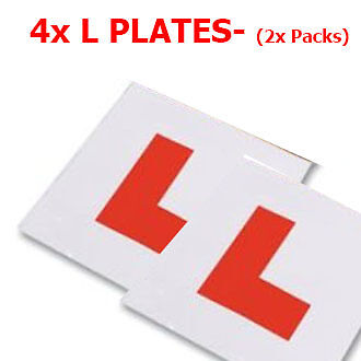 4x AA L Plates Magnetic Easy to Use  ( 4x Pcs - 2 Packs ) ** HIGH QUALITY**