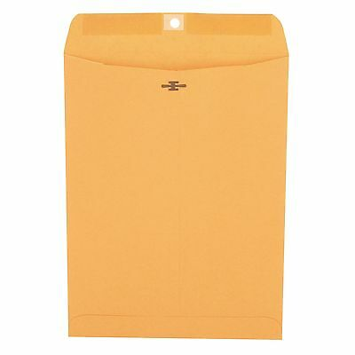 #90 Universal Clasp Envelope Side Seam 28lb 9 x 12 Light Brown Kraft 100-Count