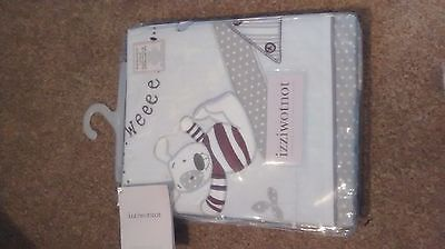 Izziwotnot Time To Play Cot Bed Duvet Cover and Pillowcase Set
