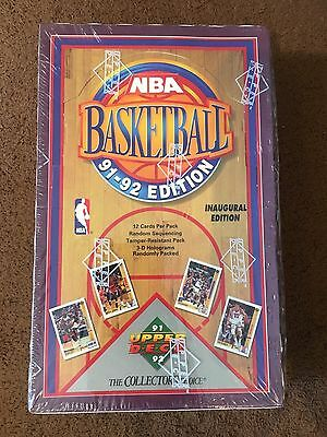 1991-92 Upper Deck Basketball Factory Sealed 2 Box LOT - 72 packs FREE SHIPPING