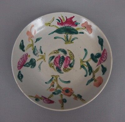 ancienne petite assiette coupe chinoise en porcelaine / chinese plate