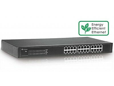 24 Port 10/100/1000 Network Gigabit Switch 19 Inch Rackmount | Free Delivery
