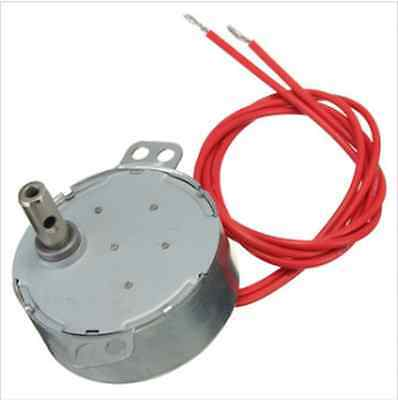 AC 12V 50/60Hz Synchronous Motor 4W 5/6RPM Microwave Oven Gear Motor