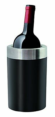 Invotis 4 pezzi Tpr Coated Wine Cooler, Nero (a9W)