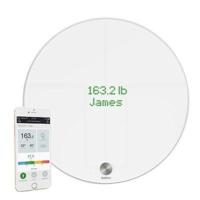 QardioBase Bilancia Wireless Smart, Bianco (u4E)