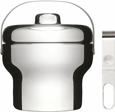 Sagaform Stainless Steel Ice Bucket with Tongs (o5p)