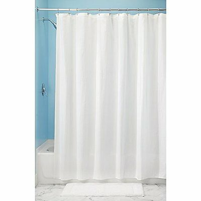 InterDesign Decorative Poly Blend Tenda doccia, Tenda vasca da bagno in (v8C)