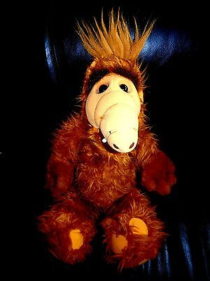 Vintage Plush ALF Toy Doll By Coleco 1986 (17 INCHES)
