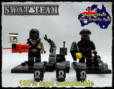 Terrorist Cell Minifigure 2 Minifigures, Fits With Lego call of duty
