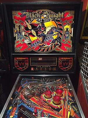 Black Knight 2000 Pinball Williams