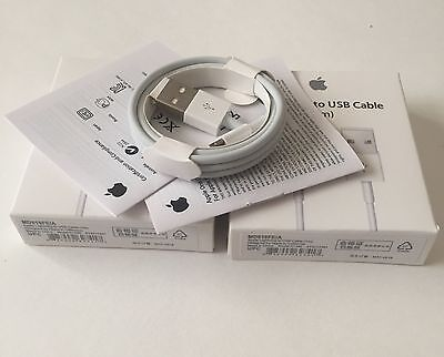 10x  GENUINE ORIGINAL- QUALITY  CHARGER USB CABLE  IPHONE 6/6 Plus 5 5S 5C-1
