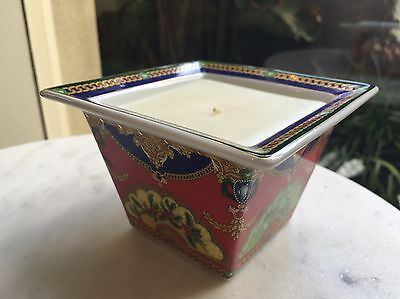 "Versace Rosenthal ""Peace 2005"" Christmas Candle"