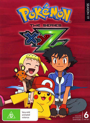 Pokemon The Series: XYZ Complete Collection  - DVD - NEW Region 4