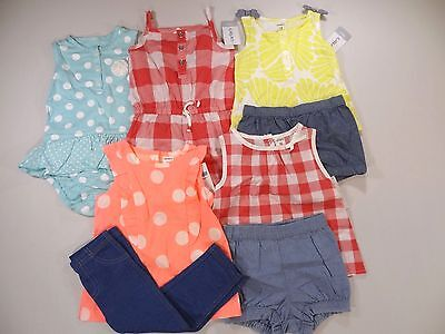 5 Carter's Outfits Brand New LOT ! Size: 18 months Spring Summer