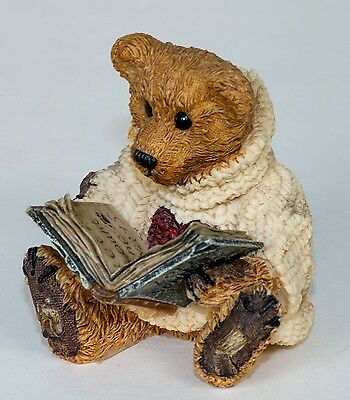 Boyds Bears Style 2007 Wilson With Love Sonnets!  Resin Figurine 1993
