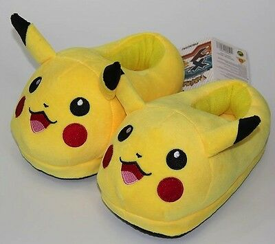 ~❤️~POKEMON Pikachu Slippers 1 pair One Size Fits All~❤️