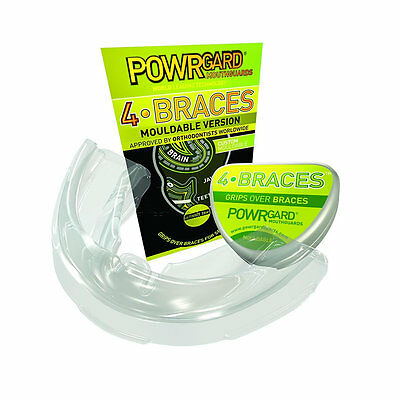 Powrgard 4 Braces  Mouth Guard Mouldable Version - Powerguard Sports