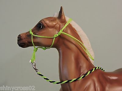 Foal Rope Halter Traditional sized Breyer Peter Stone with Lead Rope