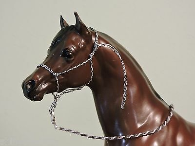 Rope Halter Traditional sized Breyer Peter Stone with Lead Rope