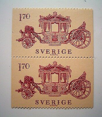 Sweden MNH Joined Pair of Stamps...1.70 Sverige