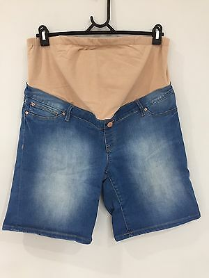 Jeans West Maternity Shorts Size 14