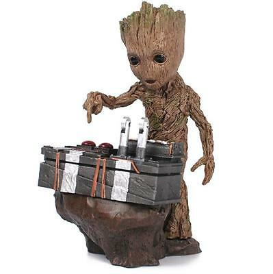 Baby Groot Resin Figure Cute Guardians of The Galaxy Vol. 2 Toy Collection 2017!