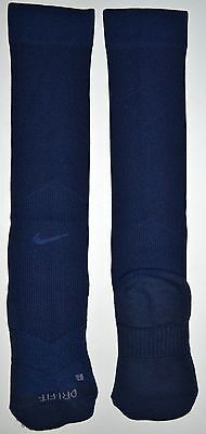 (2 Pairs) Nike Blue Performance Over the Calf Baseball Socks Size Small - NWT