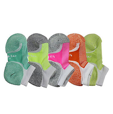 5pair Women Low Cut No Show Yoga Ankle Socks Mesh Moisture-wicking Absorbent Dry