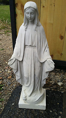 "+ Marble statue of Mary ""The Blessed Mother, Our Lady of Grace"" + chalice co. +"