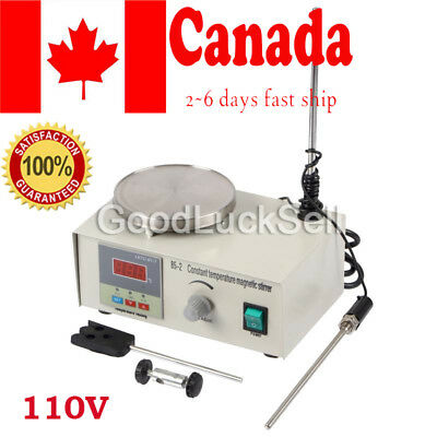 CA! Magnetic Stirrer with Heating Plate 85-2 Hotplate Mixer Digital Display 110V