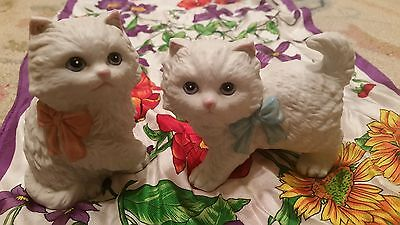 Homco Matching Cat Figurines #1428