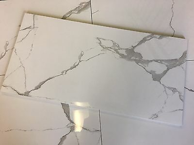 White Porcelain Full Polished 300X600Mm Tile $17 Per Sqm - A