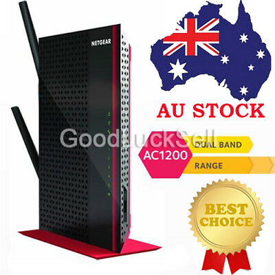 Netgear EX6200 AC1200 Dual Band Wireless Gigabit Range Extender WiFi Booster AU!