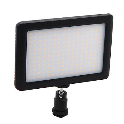 12W 192 LED Studio Video Continuous Light Lamp For Camera DV Camcorder Blac Y6W3