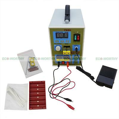 2 In 1 18650 788H 60A Spot Welding Spot-welder Soldering for Battery Charger UK