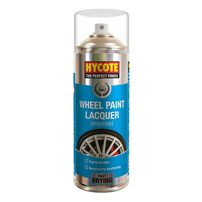 Hycote Wheel And Trim Lacquer Spray Can Paint 400ml