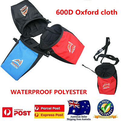 Waterproof Outdoor Rock Climbing Magnesium Powder Chalk Addict Bag,3 COLORS,AU