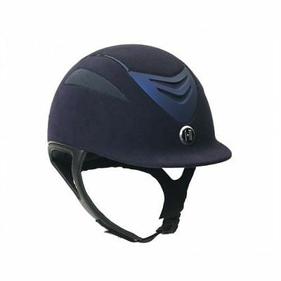One K Defender Suede PAS015 Riding Jumping Competition Helmet Removable Liner