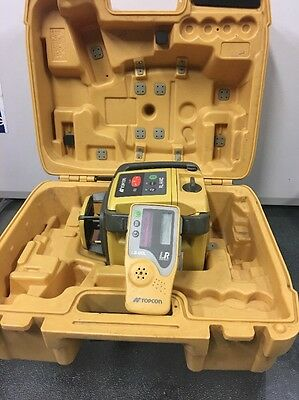 Topcon RL-H4C Laser Level - Topcon LS-80L Double-Sided Laser Reciever Detector