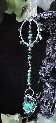 "Collection ""Witch Secrets"" - Collier de sorcière en malachite"