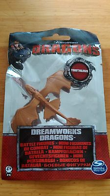 New Dreamworks How to Train Your Dragon 1st ser. Toothless Battle Figure Bag