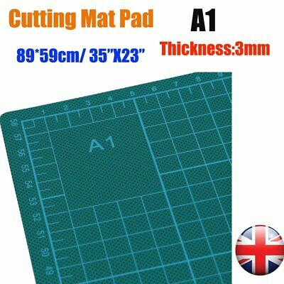 "Cutting Mat A1 Rectangle Double Sided Craft Board Self Healing Non Slip 35""x23"""