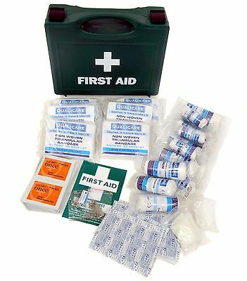 Qualicare Catering HSE First Aid Kit - 1 to 10, 20 or 50 person - Refill or Box