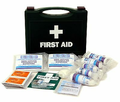 Qualicare HSE Compliant First Aid Kit - 1 to 10, 20 or 50 person - Refill or Box