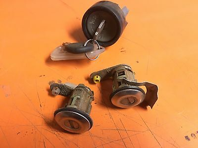 SUBARU IMPREZZA WRX RX 4/93>9/00  Ignition Barrel And Door Lock Set With Key