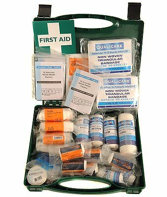 Qualicare Paediatric First Aid Kit - Bandages, Dressings, Gloves, Tape, Plasters