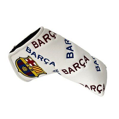FC Barcelona, Copri-Putter, Multicolore (White/Red/Blue), Taglia unica (p6t)