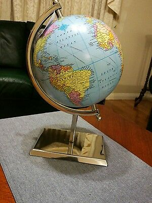 Brand new world globe. Study. Student.Learning.School.Decor